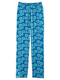 Pull-On Print Pants