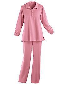 Polo Tunic Pants Set