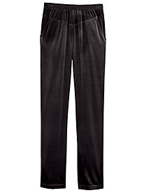 V-Yoke Velour Pants