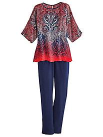 Women's Casual Pant Suits & Capri Sets | Bedford Fair