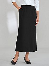 A-Line Wool-Blend Skirt