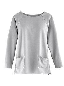 Angled Pocket Pullover