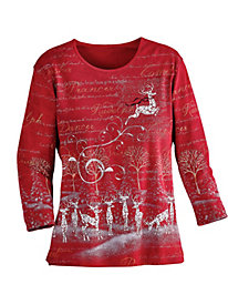 Rudolph Holiday Tee
