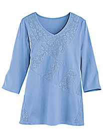 Lace Patchwork Tunic