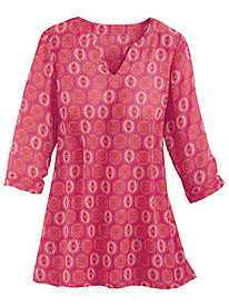 Medallion Print Tunic