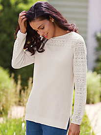 Touch Of Lace Sweater