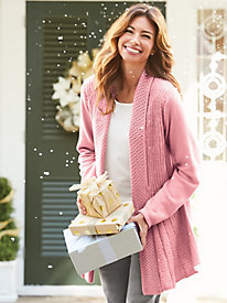Glitter And Shine Swing Cardigan