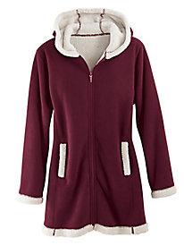 Plush Fleeced-Lined Jacket