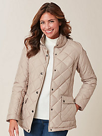 Quilted Basic Coat