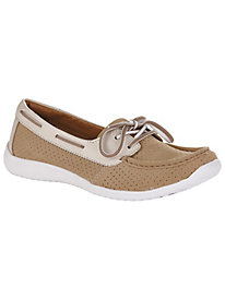 Arbor Opal Style Leather Loafers by Clarks®