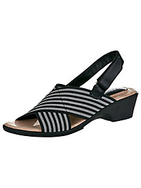 Leighton Style Stretch Sandals by Classique®