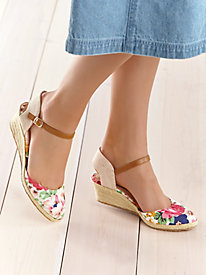Lana Style Ankle Strap Espadrilles by Beacon®