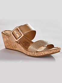 Leather Slides From Comfortiva By Sofft®