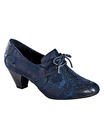 Gretel Style Tie Oxford Pumps By Softstyle®