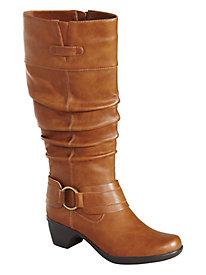Jayda Scrunch Boots By Easy Street® Regular Shaft