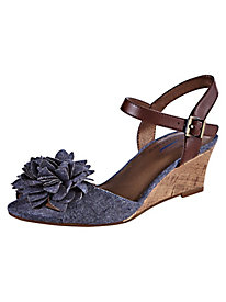 Paula Flower Peep-Toe Sandals By Life Stride®