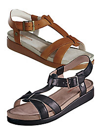 Gerrit Leather Sandals By Hush Puppies®