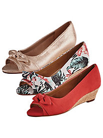 Ship Deck Wedge Sandals By Aerosoles®