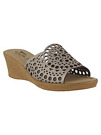 Martha Leather Sandals By Spring Step®