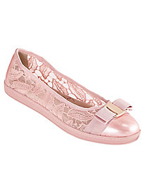 Fagan Bow Ballerina By Soft Style®