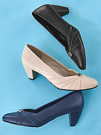 Dee Pleated Pump By Soft Style®