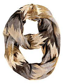 Metallic Infinity Scarf by Bedford Fair