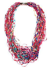 Magnetic Novelty Yarn Scarf