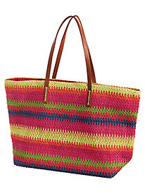 Striped Tote by Bedford Fair