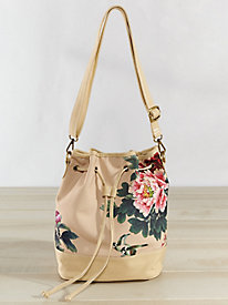 Peony Convertible Canvas Bag