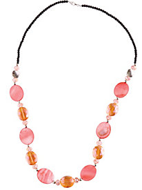 Polished Bead Necklace