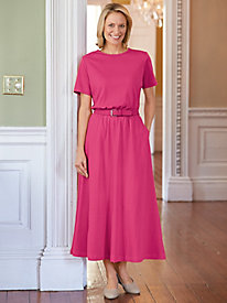 Updated Belted knit Dress