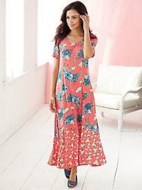 Twin Print Dress