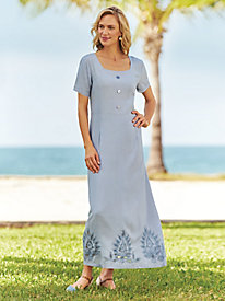 Cutout Squareneck Dress