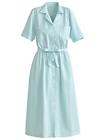 Seersucker Dress