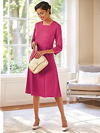 Ponté Knit Dress