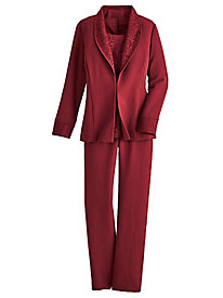 Elegant 3-Piece Pants Suit