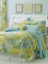 Flourish Comforter, Shams, Sheet Set, Pillows & Windows