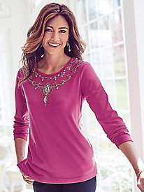Ornate Beaded Top