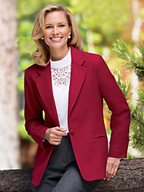 Fully Lined Wool Jacket by Mark Reed®