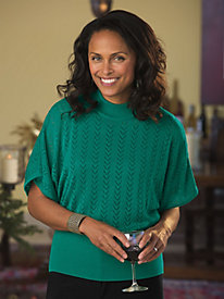 Pretty in Pointelle Sweater