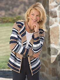 Stripes of Life Cardigan