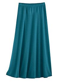Flattering A-Line Knit Skirt