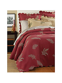 Fern Matelasse Coverlet Collection