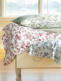 Floral Toile Sheet Set