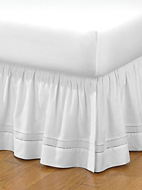 Gathered Hemstitch Bedskirt