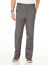Casual Joe® Stretch-Waist Twill Pants