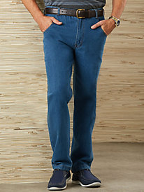 Casual Joe� Stretch-Waist Jeans