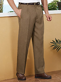 Gold Coast� Linen-Look Slacks