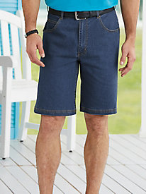 Duke Denim Shorts with Comfort Stretch