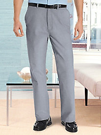 Fit-Forever� Chambray Pants